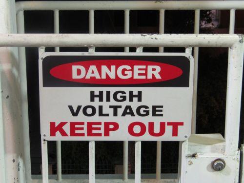 danger avertisment security