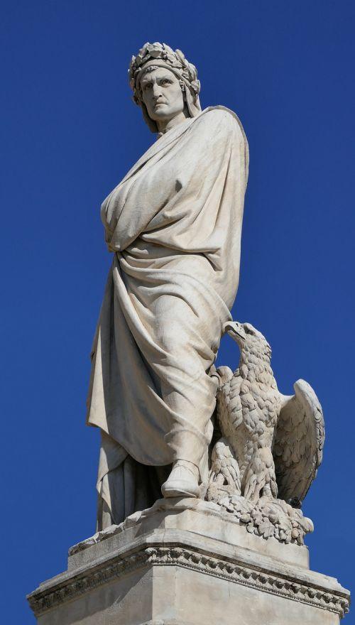 dante florence statue