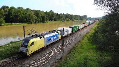 danube freight train bavarian maximilian track