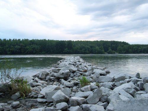 danube landscape water