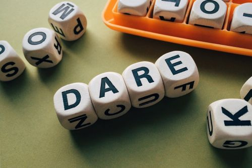 dare word letters