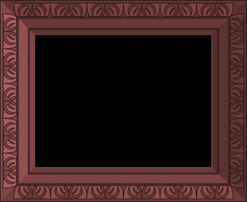 dark frame ornate