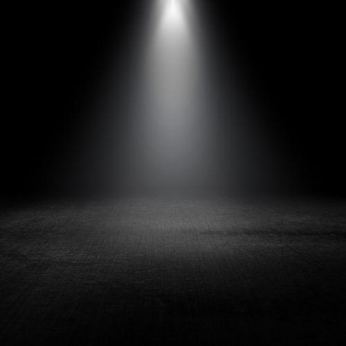 dark insubstantial spotlight