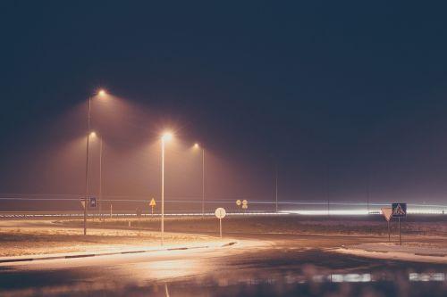 dark night roads