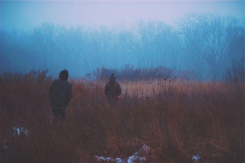dark fog winter