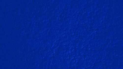 Dark Blue Plastered Wall