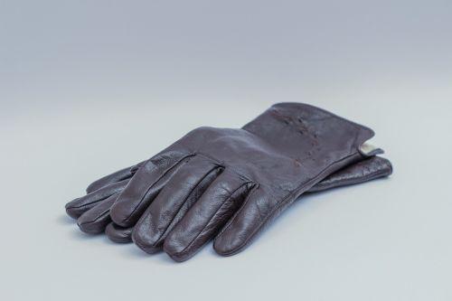 dark brown leather gloves womens ladies