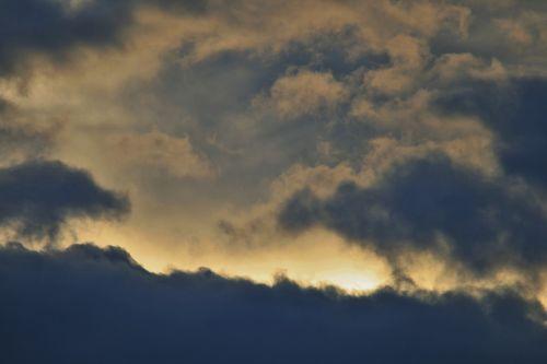 dark clouds sky clouds