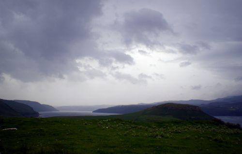 Dark Clouds Over Skye