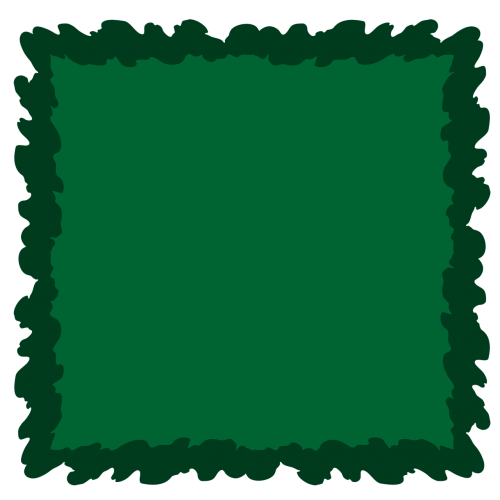 dark green green frame