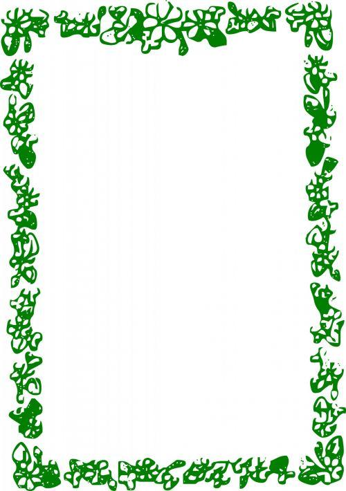 Dark Green Frame 2