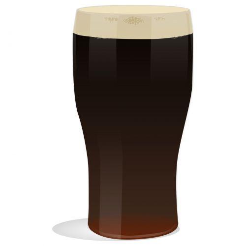 Dark Pint Of Ale