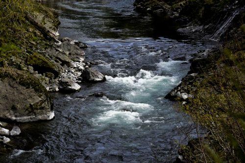 Dark River Background