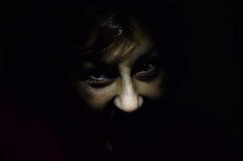 darkness fear terror