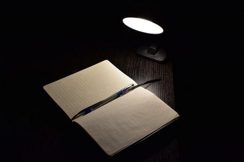 darkness study pen