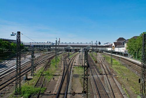 darmstadt central station hesse