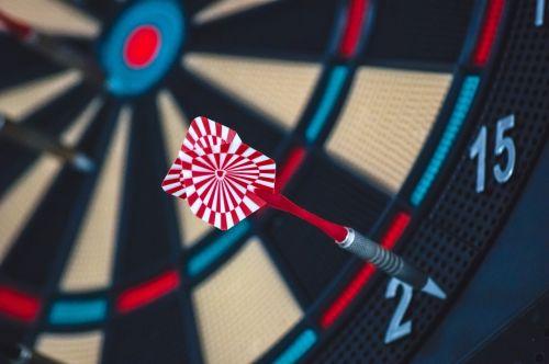 dart board game target