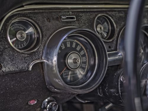 dashboard car vintage