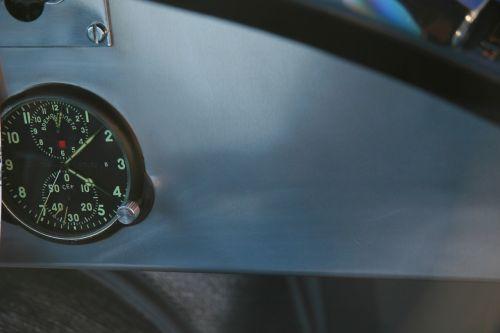 dashboard clock instruments