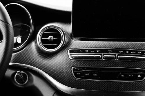 dashboard the vehicle interior auto