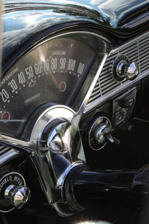 dashboard interior gauge