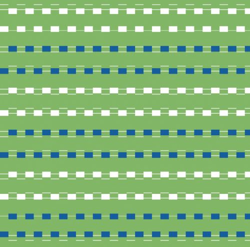 Dashed Lines Blue Green Background