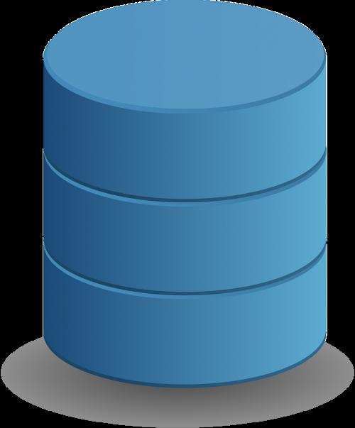 database data storage cylinder
