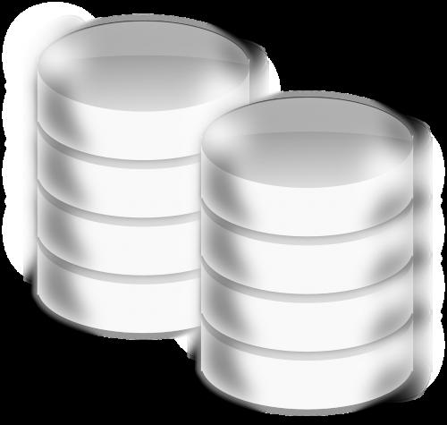 database cylinder 3d