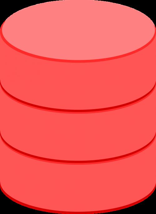database storage cylinder