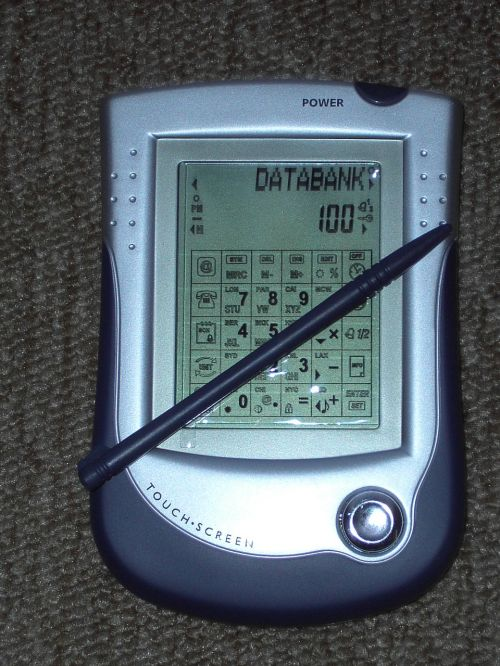 database touch screen electronic