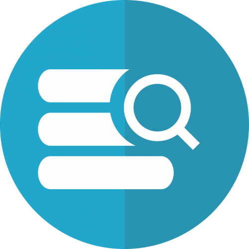 database search database search icon data search