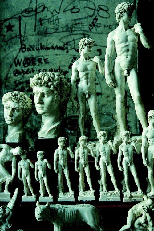 david michelangelo monumental statue
