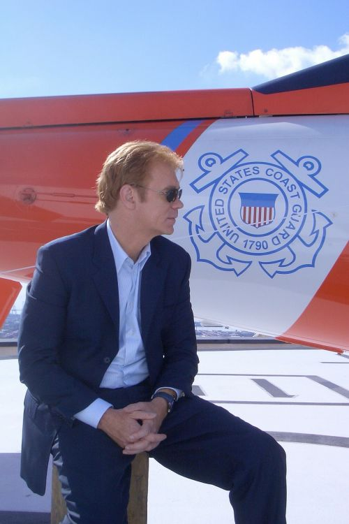 david caruso ship coast guard