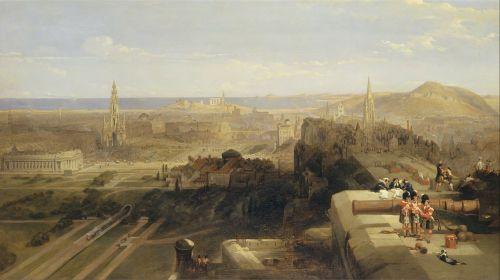 david roberts landscape art