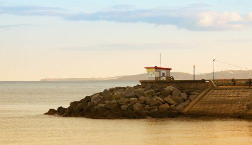 dawlish sea coast