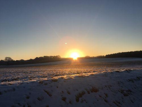 dawn sunrise morgenrot