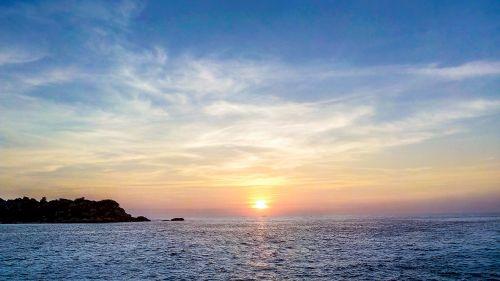 dawn morning sun