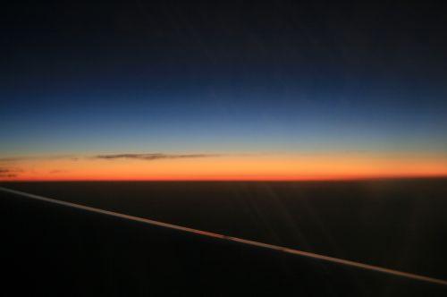 Dawn From Passenger Jet