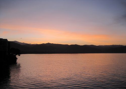 Dawn Over Lake Kivu, Goma