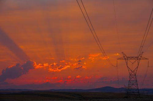 day sunset solar