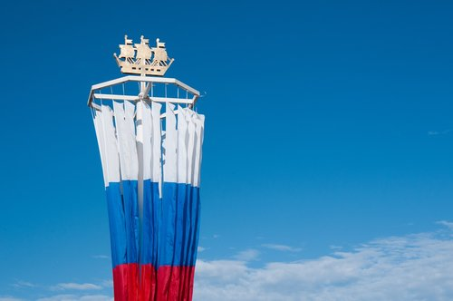 day of the city  flag of russia  state flag