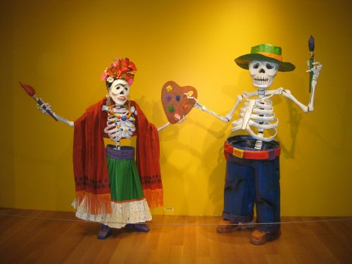 day of the dead frida kahlo diego rivera