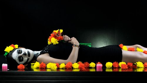 day of the dead  death  women