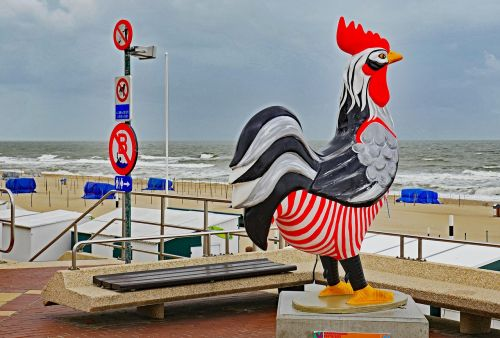 de haan belgium north sea coast