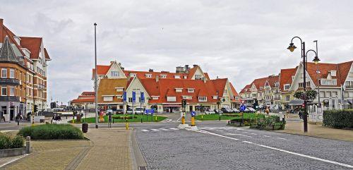 de haan north sea coast belgium