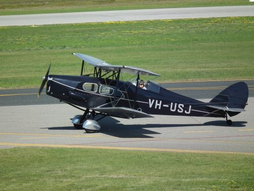 de-havilland dh-83 vintage