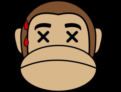 dead face monkey