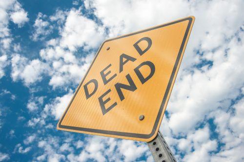 dead end sign cul-de-sac
