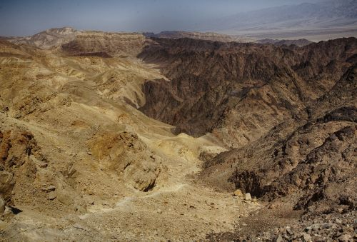 dead sea timna red