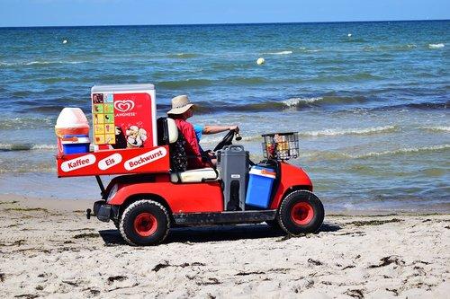 dealer  most beach  baltic sea